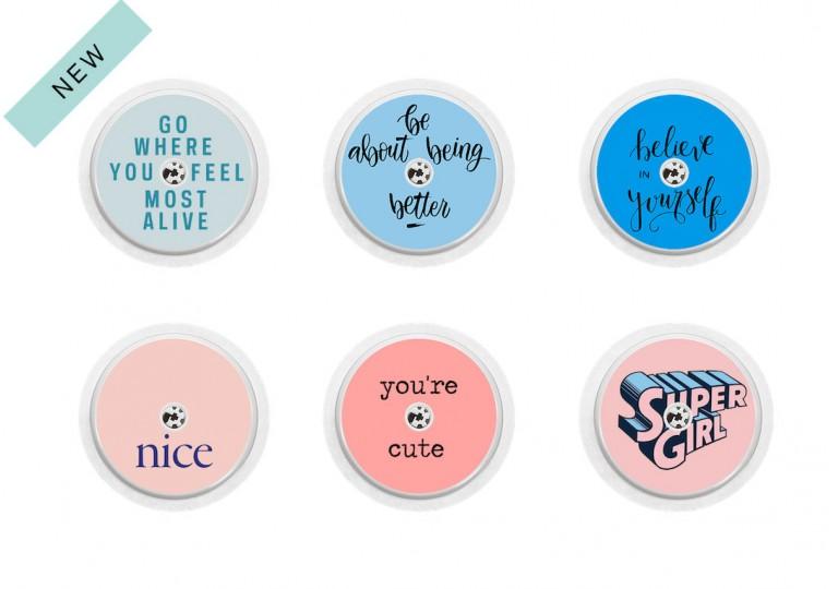 Freestyle Libre sticker Collection Super Girl