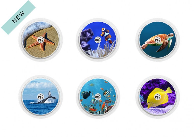 Freestyle Libre sticker Collection Aquarium