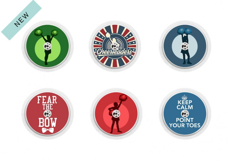Freestyle Libre sticker Collection Cheerleading