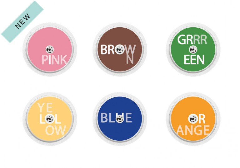 Freestyle Libre sticker Collection Colors