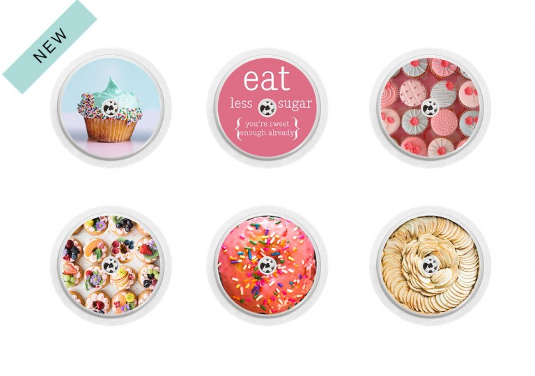 Freestyle Libre sticker Collection Cupcake