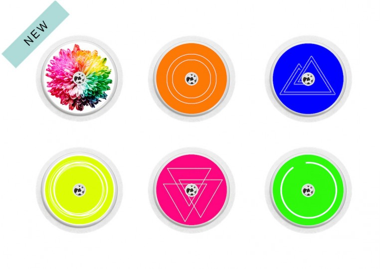 Freestyle Libre sticker Collection Fluo