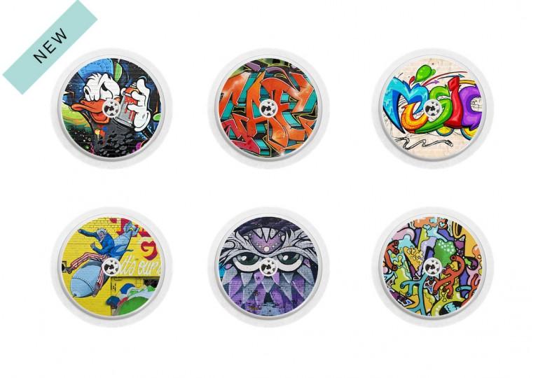 Freestyle Libre sticker Collection Grafiti
