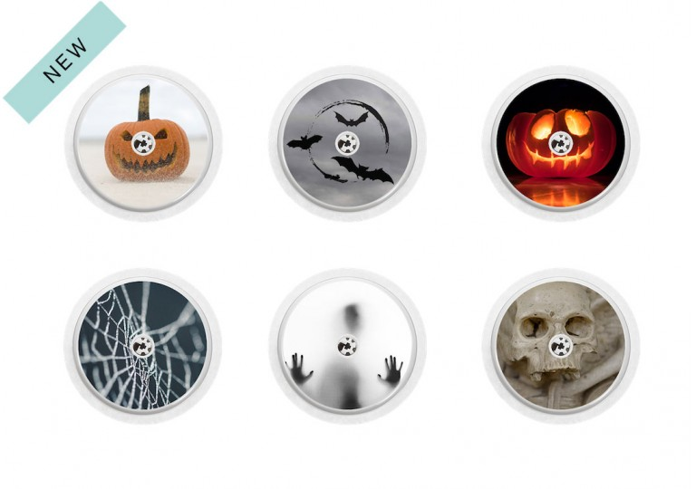 Freestyle Libre sticker Collection Halloween