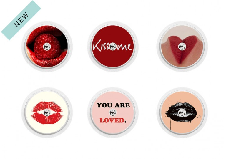 Freestyle Libre sticker Collection Kiss Me