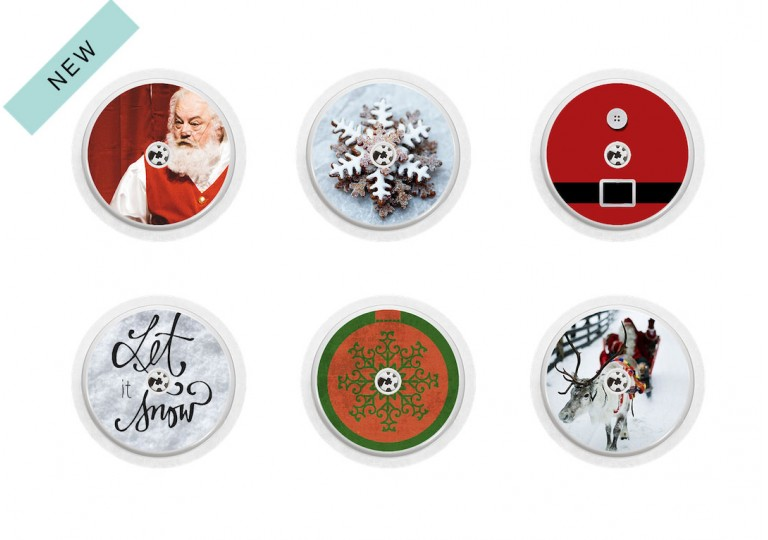 Freestyle Libre sticker Collection Merry Christmas