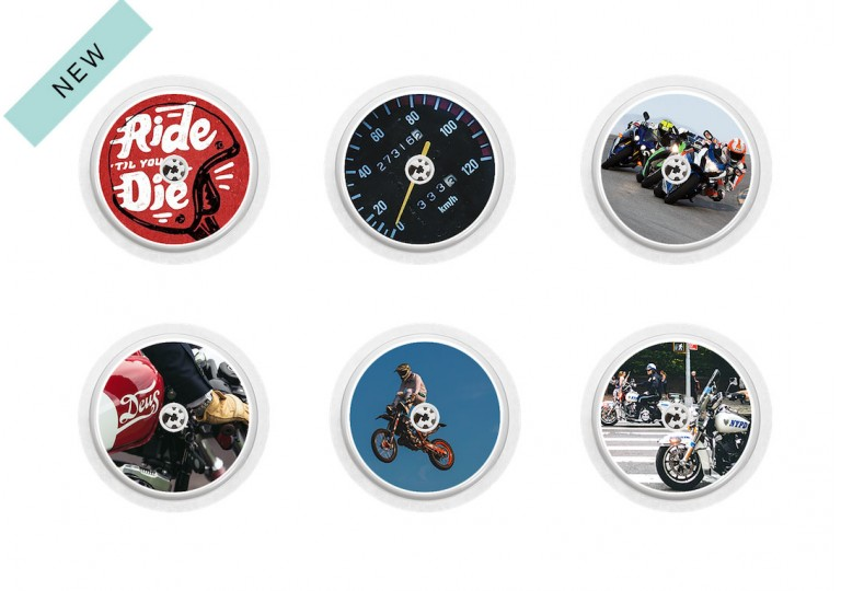 Freestyle Libre sticker Collection Moto