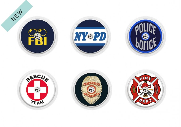 Freestyle Libre sticker Collection Police