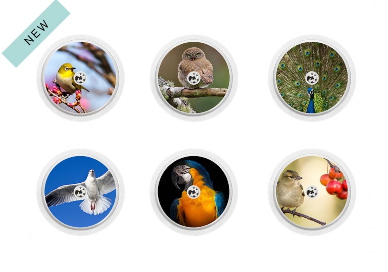 Freestyle Libre sticker Collection Roucoucou
