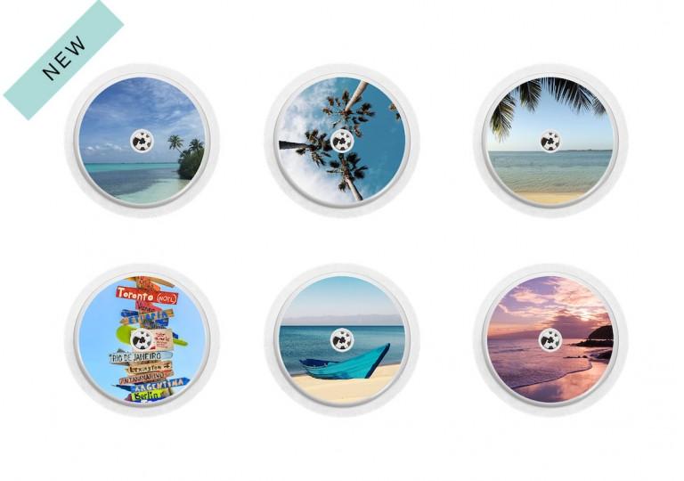 Freestyle Libre sticker Collection Tropical