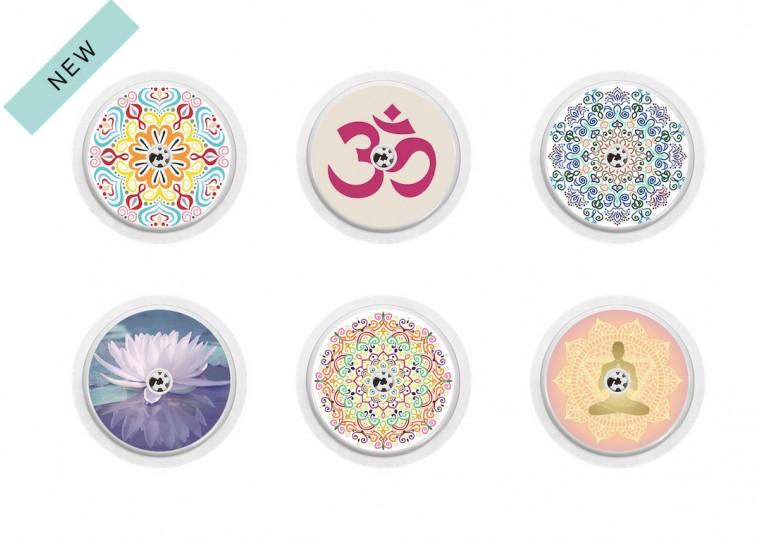 Freestyle Libre sticker Collection Yoga