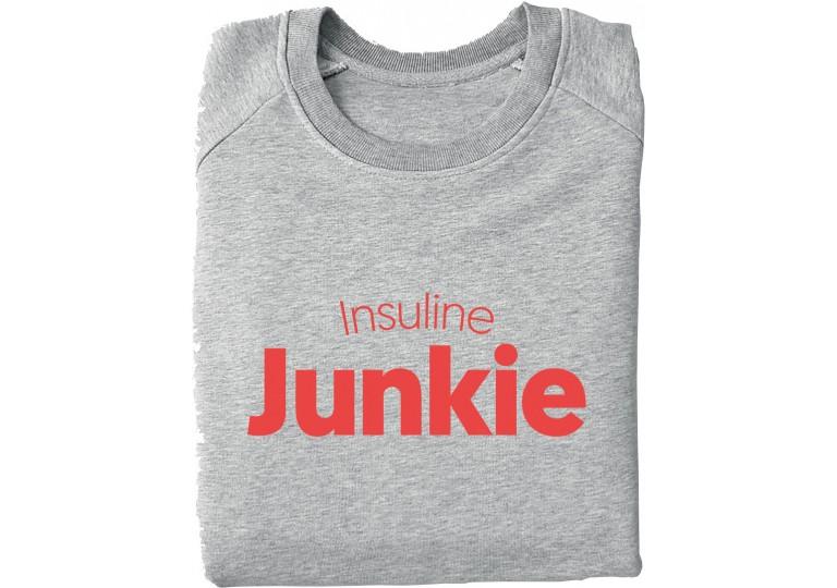 HélOui sweat-shirt Insuline Junkie