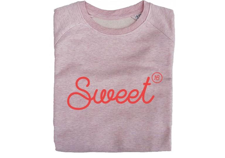 HélOui sweat-shirt Sweet 16