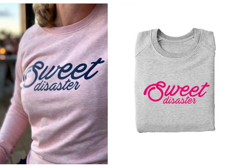 HélOui sweat-shirt Sweet Disaster