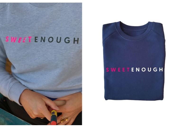 HélOui sweat-shirt Sweet Enough
