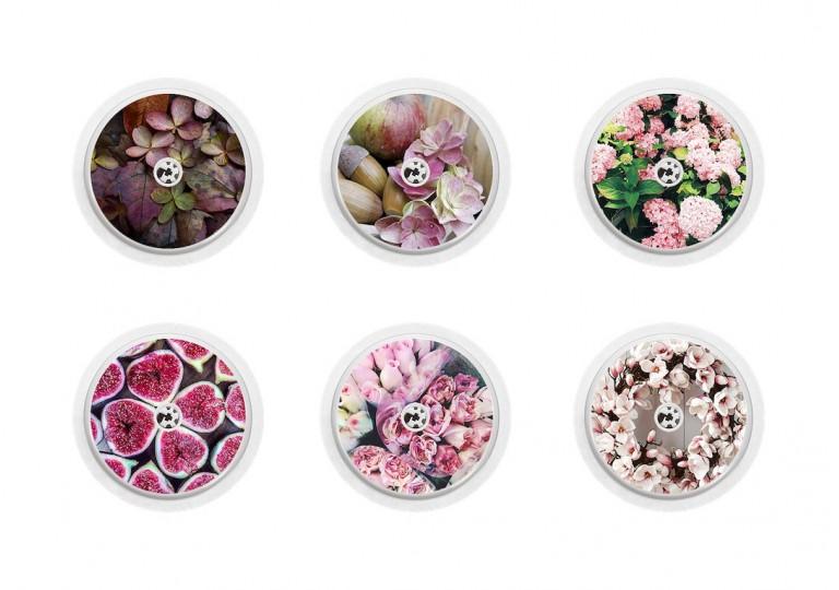 Freestyle Libre sticker Collection hortensia