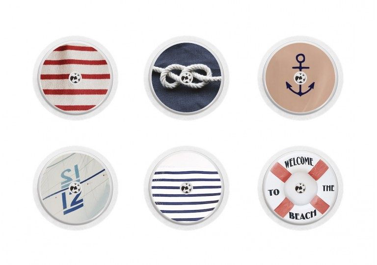 Freestyle Libre sticker Collection navy