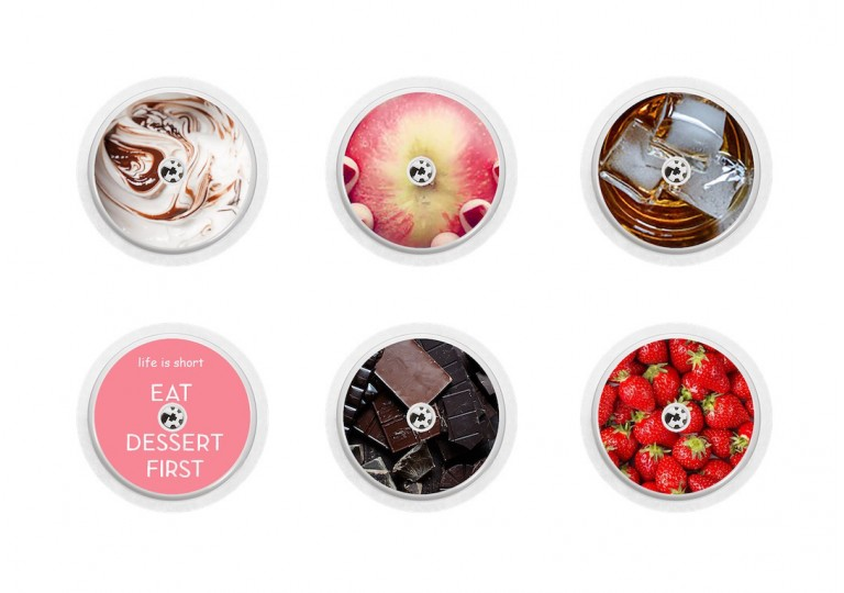 Freestyle Libre sticker Collection sugarfree